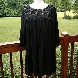 NWT Jodifl black boho Festival style dress